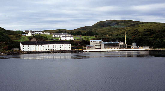 The still house of Caol Ila