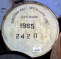 Dailuaine cask uploaded by Ben, 17. Feb. 2015