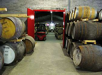 Edradour casks in the warehouse uploaded by Ben, 25. Feb. 2015
