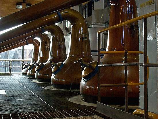 The Macallan Pot stills