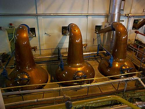 The macallan spirit stills