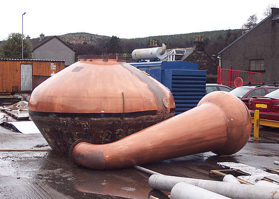 an old pot still that is recycled