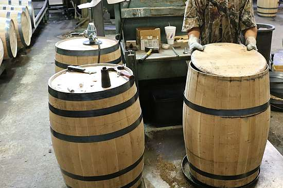 Repairing of a barrel