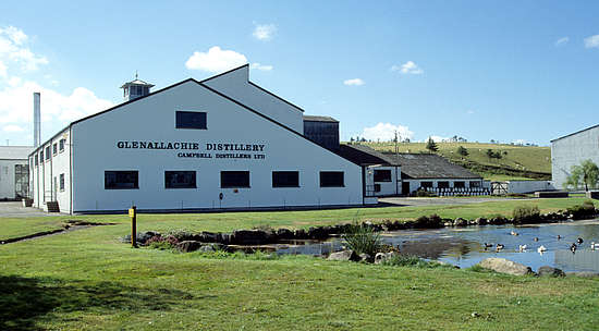 The Glenallachie distillery house.
