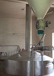 John Distillery mash tun and malt conveyor uploaded by Ben, 23. May 2016
