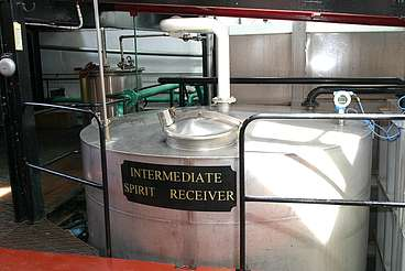 Bowmore intermediate spirit receiver uploaded by Ben, 16. Feb 2015