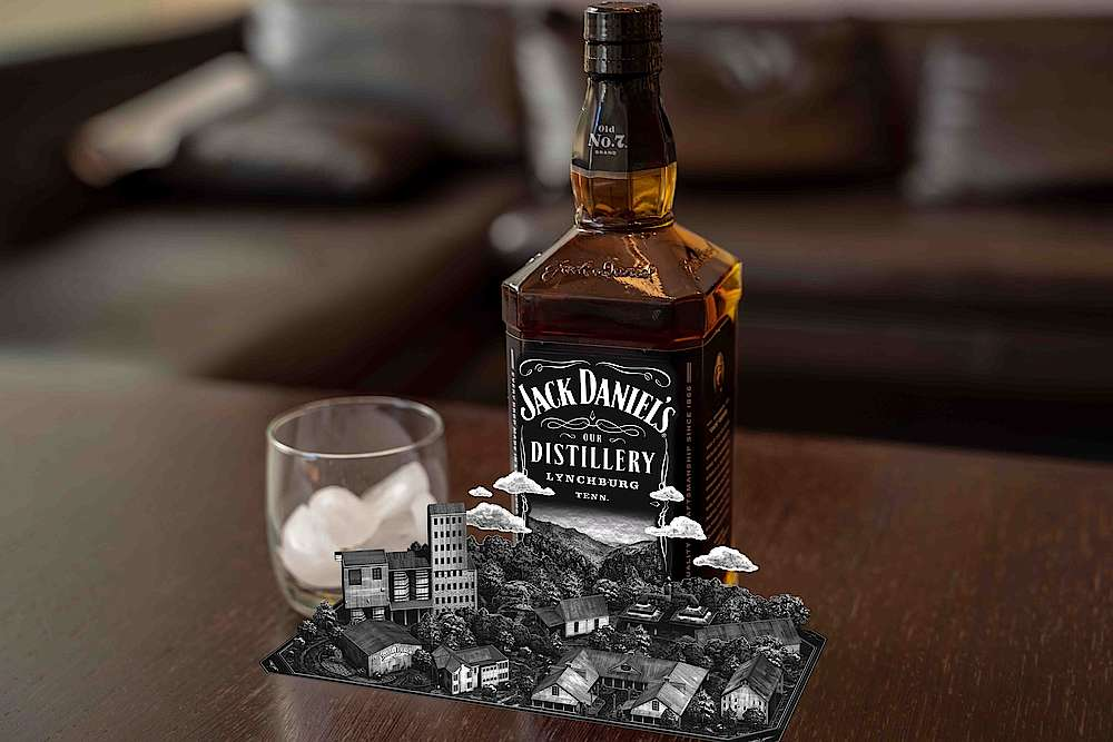 Jack Daniel's augmented reality app presents the world of the Tennessee Whiskey