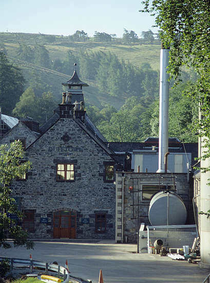 The kiln of the Dufftown distillery.