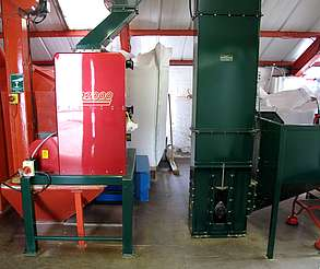 Edradour malt mill uploaded by Ben, 25. Feb. 2015
