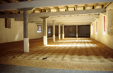 Glendronach malting floor uploaded by Ben, 10. Mar 2015