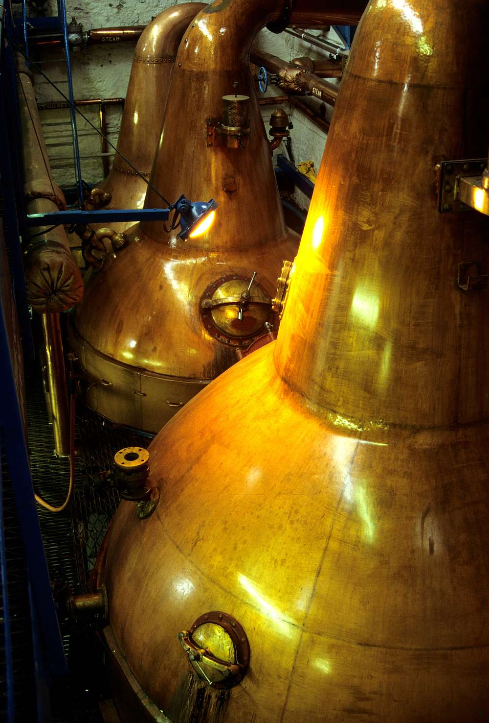The Pot stills of Balblair