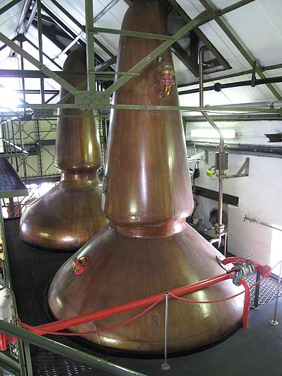 The pot stills