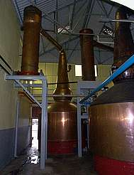 Balvenie pot stills & condenser uploaded by Ben, 10. Feb 2015
