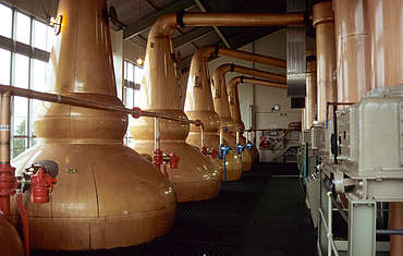 Clynelish pot stills uploaded by Ben, 17. Feb 2015