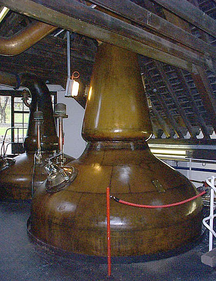 The Pot stills of the Strathisla