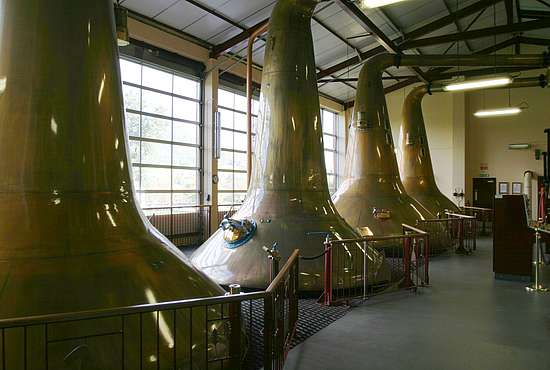 The Aberfeldy pot stills