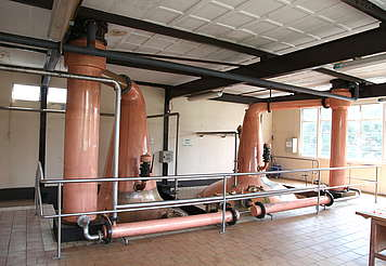 Cooley pot stills and condensers uploaded by Ben, 18. May 2015