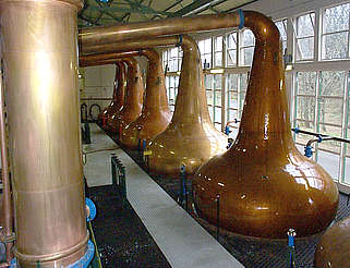 Glen Ord  pot stills and condenser uploaded by Ben, 04. Mar 2015