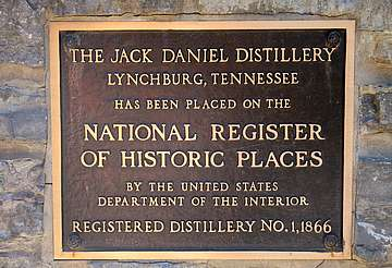 Jack Daniels registry shield uploaded by Ben, 15. Jun 2015