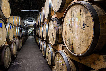 Rothaus casks in dunnage warehouse uploaded by Ben, 01. Aug 2019