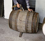 Read an overview about how Scottish Single Malt whisky is filled from the spirit vat into the different casks like American standard barrels, hogsheads or butts.