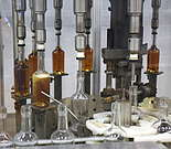 Read about how Bourbon Whiskey is bottled. See the bottling lines and read about the different sizes and the special sizes for the duty free ranges.