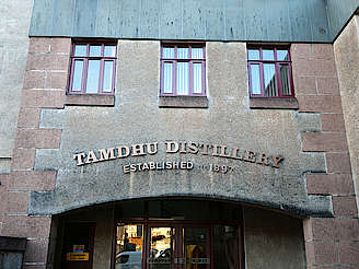 Tamdhu distillery entrance uploaded by Ben, 10. Dec 2018