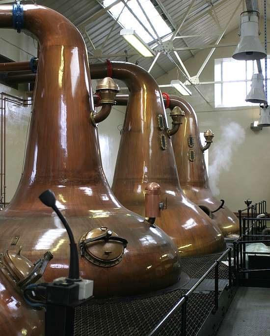 The Highland Park Pot Stills