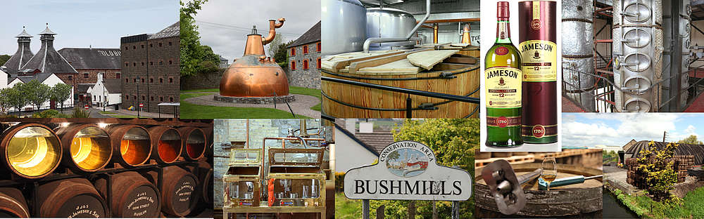 A picture of the Irish Whiskey production