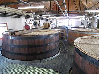 Ardbeg wash backs uploaded by Ben, 10. Feb. 2015