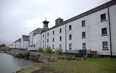 Laphroaig malting and kiln uploaded by Ben, 15. Feb 2016