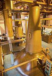 Bruichladdich pot stills and spirit safe uploaded by Ben, 29. Feb 2016