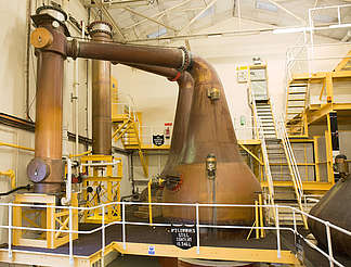 Bunnahabhain pot stills uploaded by Ben, 25. Jan 2016