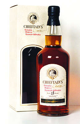 Banff Chieftains Choice 18 y.o. with package