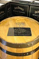 Jack Daniels barrel uploaded by Ben, 15. Jun 2015