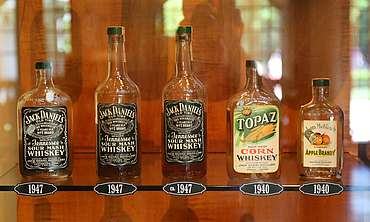 Jack Daniels bottle collection uploaded by Ben, 15. Jun 2015