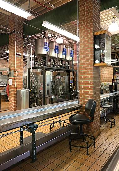 Bottling lines of Jack Daniel's