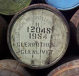 Glenrothes cask uploaded by Ben, 24. Mar 2015
