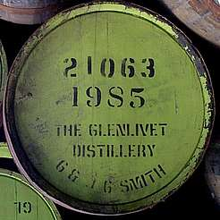 Glenlivet cask uploaded by Ben, 23. Mar 2015
