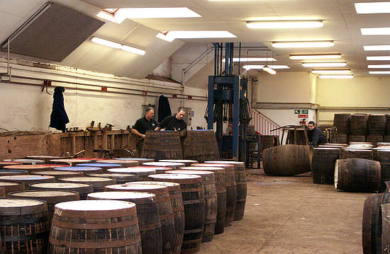 The Glenrothes Cask Workshop