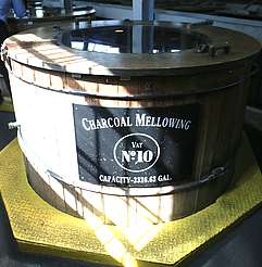 Jack Daniels charcoal mellowing tank uploaded by Ben, 09. Jun 2015