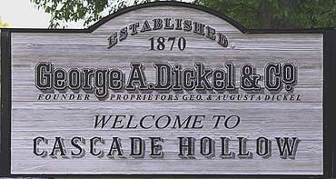 George Dickel company sign uploaded by Ben, 08. Jun 2015