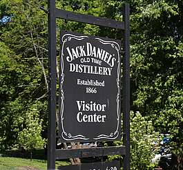Jack Daniels company sign uploaded by Ben, 09. Jun 2015
