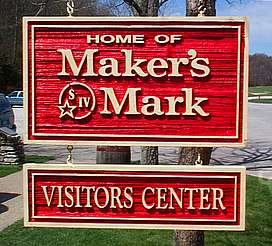 Maker's Mark company sign uploaded by Ben, 23. Jun 2015