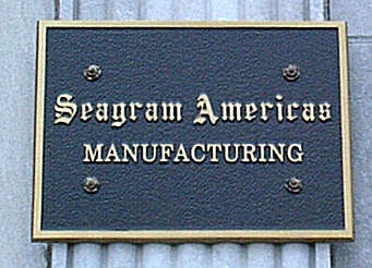 Seagrams company sign uploaded by Ben, 08. Jul 2015