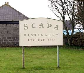 Scapa company sign uploaded by Ben, 22. Apr 2015