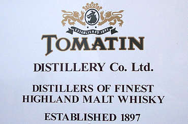 Tomatin company sign uploaded by Ben, 29. Apr 2015