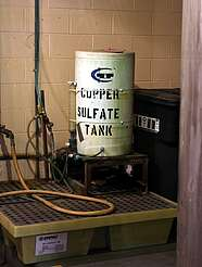 George Dickel copper sulfate tank uploaded by Ben, 08. Jun 2015