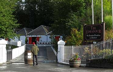 Edradour entrance uploaded by Ben, 26. Aug. 2014