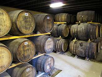 Glen Garioch inside the warehouse uploaded by Ben, 26. Aug 2014